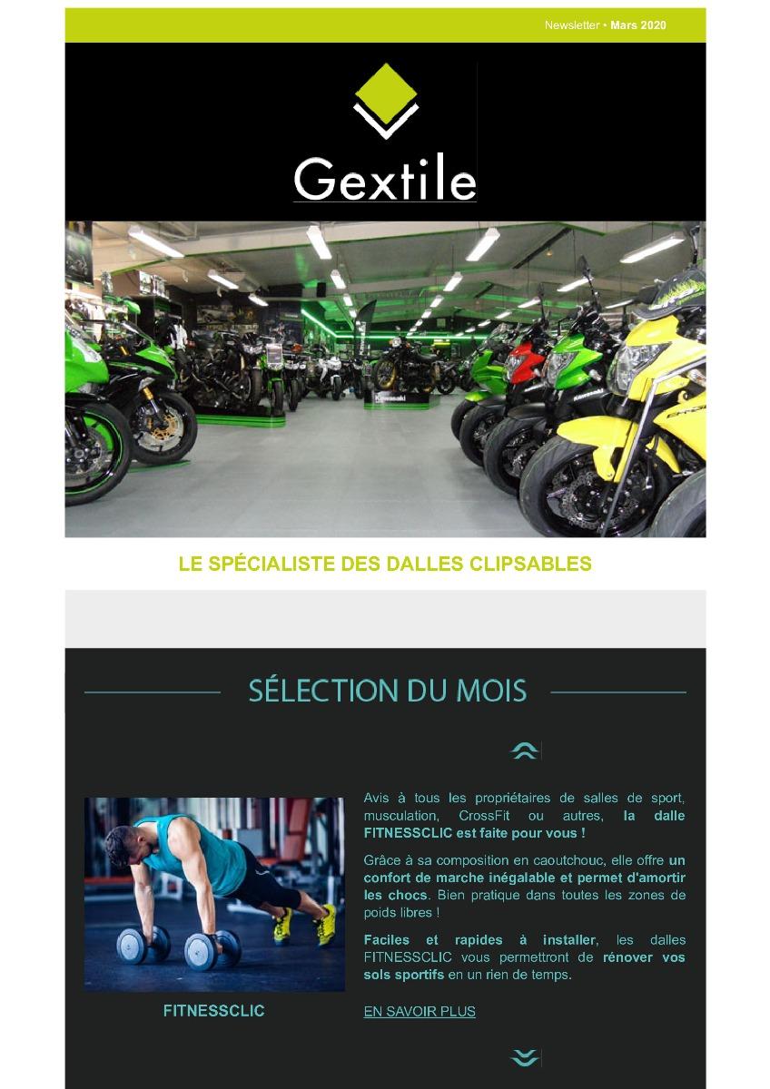 Newsletter Gextile